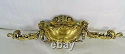 14 Antique French Gilded Bronze Furniture Pediment Decoration Louis XVI St