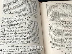 1688 Le Breviaire Romain Denis Thierry Antique Book French 17th Louis XIV