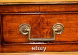 1910s Antique French Louis XVI Walnut hand painted Vanity Desk / Ladies desk