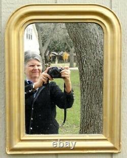19th-Century French Gilt Louis Philippe Mirror