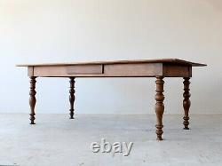 19th Century French Louis Philippe Ash Dining Table