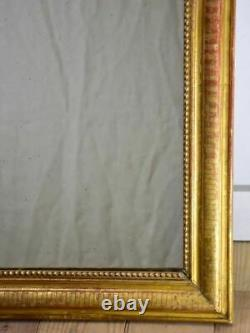 19th Century French Louis Philippe mirror with pretty gilt frame 26 x 36½