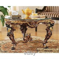 34 Louis XIV French Empire Cocktail Table antique Replica Reproduction
