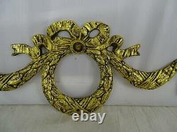 9 Antique French Gilded Bronze Furniture Pediment Decoration-Louis XVI Style