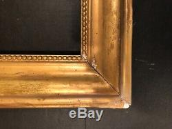 Antique 19th Century French Louis Philippe Style Gold Gilt Frame for Mirror 9b