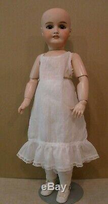 Antique 22 1/2 French Louis Leon Prieur perfect doll, original body