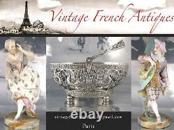 Antique French Belle Epoque Art Nouveau Rococo Louis XV Centerpiece Jardinière