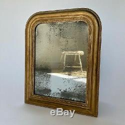 Antique French Louis Philippe Gold Mirror