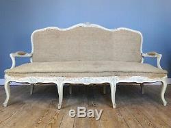 Antique French Louis XV Style Sofa
