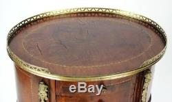 Antique French Louis XV Style Walnut Bedside Chest FREE Shipping PL4571