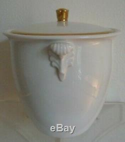 Antique French Sèvres Porcelain Sugar Pot King Louis Philippe Chateau d'Eu