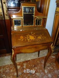 Antique French XVI Louis Bonheur Du Jour Ladies Desk Museum Quality