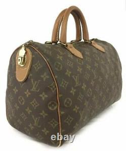 Authentic Vintage Louis Vuitton French Company Speedy Bag Brown Monogram