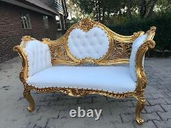 Beautiful Sofa/settee/couch/love Seat In French Louis XVI