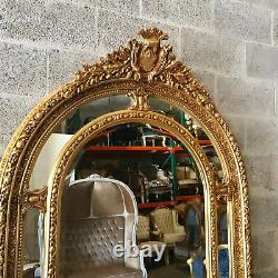Big French Louis XVI Floor Mirror. Worldwide Free Shipping