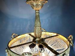 Breathtaking Chandelier French Louis XVI Style. Worldwide Free Shipping