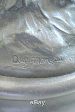 Bronze Cupid Sculpture Signed Louis Auguste Moreau (1855-1919)