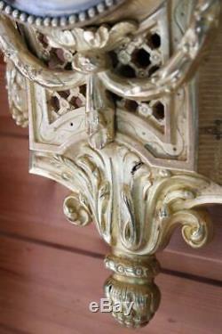 Cartel Bronze French Japy Freres Wallclock Louis 16