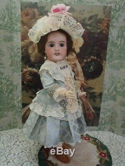 Delightful Antique French Mon Cheri by Louis Leon Prieur Bisque 22 Doll