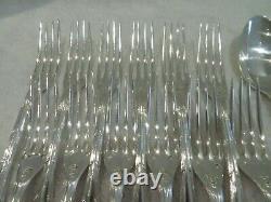 Early 20th c french 950 silver 24p dessert cutlery set Puiforcat Louis XVI ety