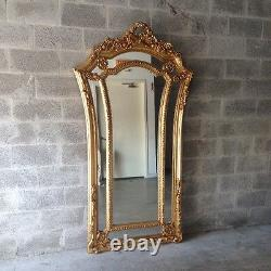 FRENCH FLOOR MIRROR IN LOUIS XVI STYLE. Made to order