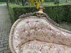 French Louis XVI style unique sofa