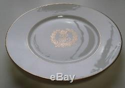French Sevres Owned By King Louis Philippe Plate Chateau Des Tuileries Date 1846