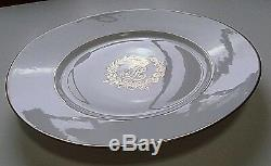 French Sevres Owned By King Louis Philippe Plate N2 Chateau Des Tuileries 1846