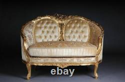 French Sofa/Canapé/Couch IN Rococo / Louis XV Style B-Dom-95
