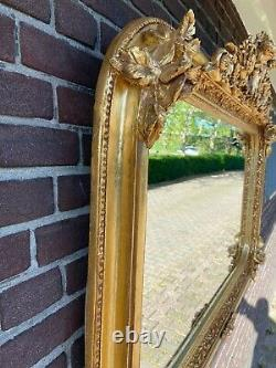 French Wall Mirror In Louis XV Style Free Worldwide Shipping