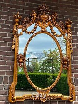 French Wall Mirror in Louis XVI Style. Worldwide free shipping