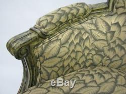 High-End Custom French Louis XVI Style Armchair by Interior Crafts