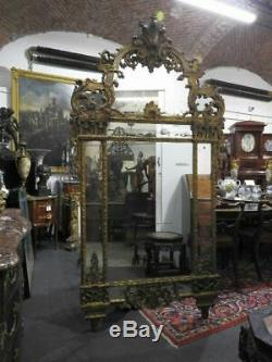 Imporntante Antique Large Dressing Table Louis XVI Dell'800 French