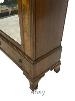 Large French Antique Walnut Louis XV Armoire / Wardrobe Cabinet FREE SHIPPING