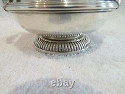 Late 19th c french 950 silver sugar bowl for 2 Louis XIV st Boin Taburet