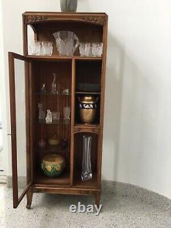 Louis Majorelle French Art Nouveau Display Cabinet