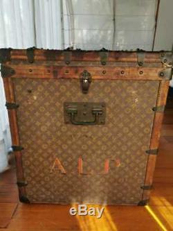 Louis Vuitton Steamer Trunk In good condition 1900´s