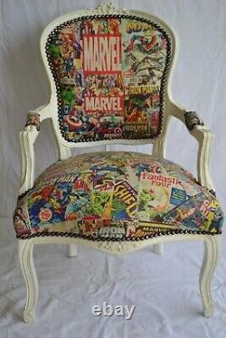 Louis XV Arm Chair French Style Chair Vintage Furniture Marvel