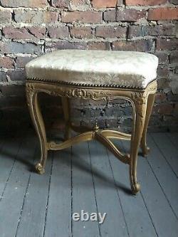 Louis XV foot stool antique circa 1920