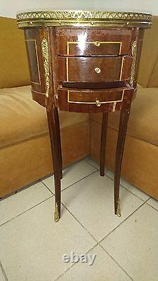 Louis XV table based on leg style FRENCH 19 centh