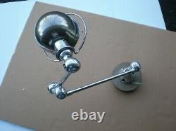 Modern 2 Arm JIELDE Jean-Louis Domecq FRENCH INDUSTRIAL Desk Lamp