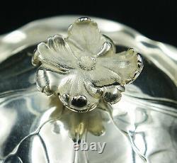OVERSIZE French Christofle Silver Plate Louis XV Chrysanthemum Coffee & Tea Set