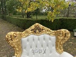 Old French Louis XVI Baroque Sofa Worldwide Shipping