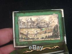 Rare Boîte à Jeton du 18 ème Siècle Antique French Box 18th XVIII e Louis XV