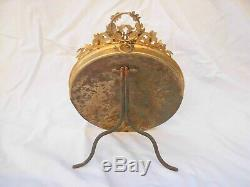 SUPERB ANTIQUE FRENCH GILT BRONZE PHOTO FRAME, LOUIS 16 STYLE, 19th CENTURY