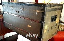 Vintage, older 1940's Louis Vuitton Luggage Trunk once owned by Martha Phillips